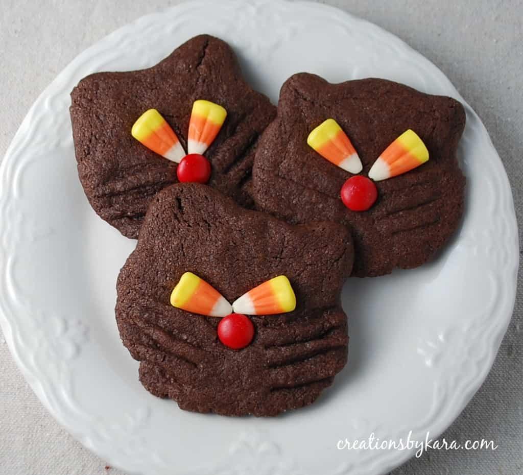 Halloween Cookies Recipe  Halloween Recipe Black Cat Cookies