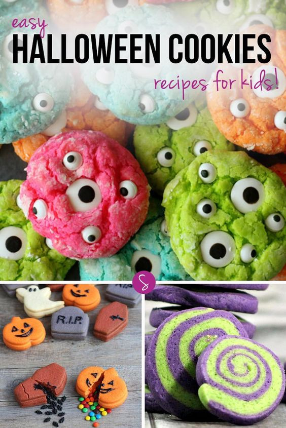 Halloween Cookies Recipes Easy  Easy Halloween Cookie Recipes for Kids to Make and Eat