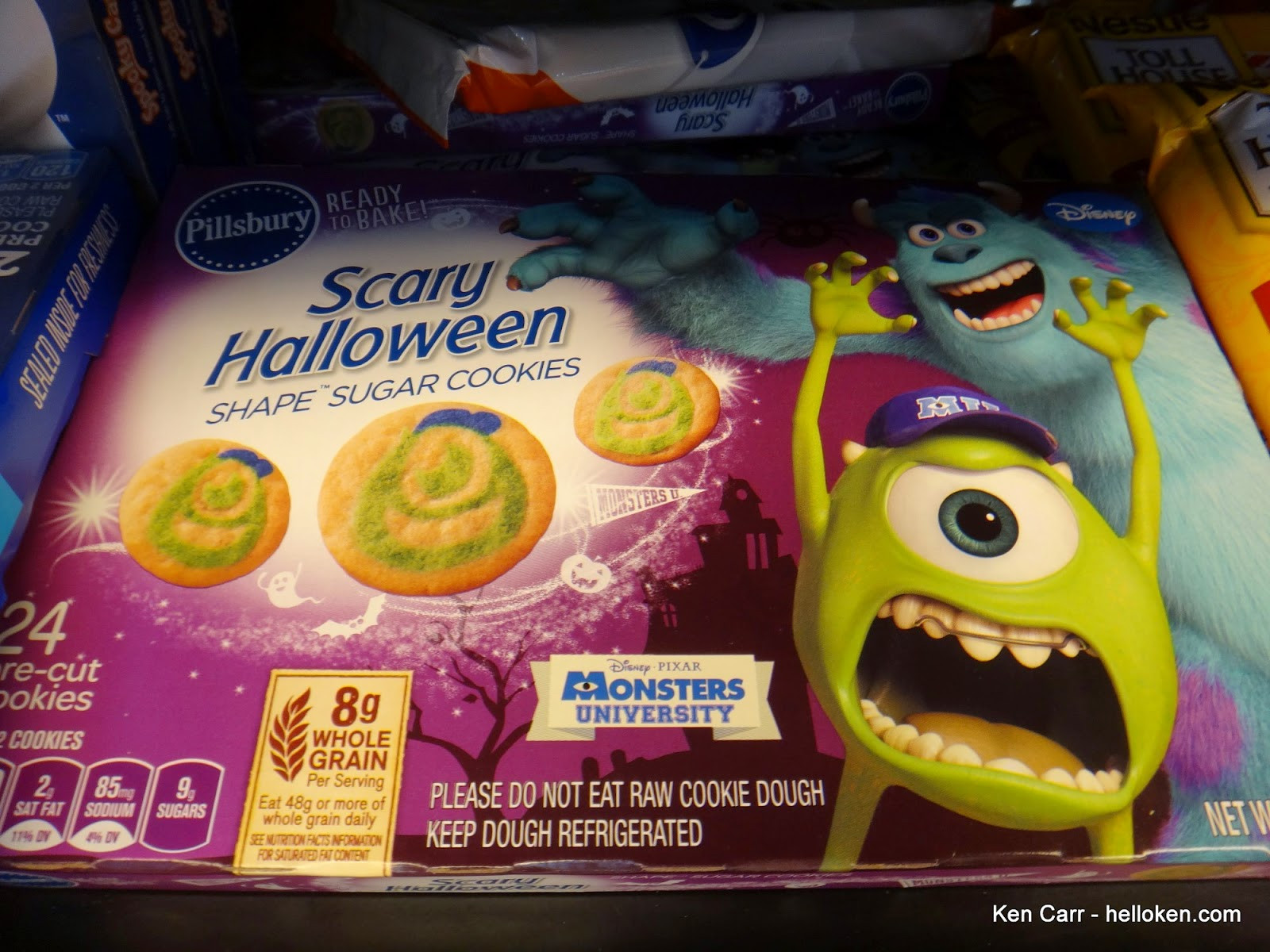 Halloween Cookies Walmart  Ken Carr Blog Baja chicken quesadilla and pumpkin pumpkin