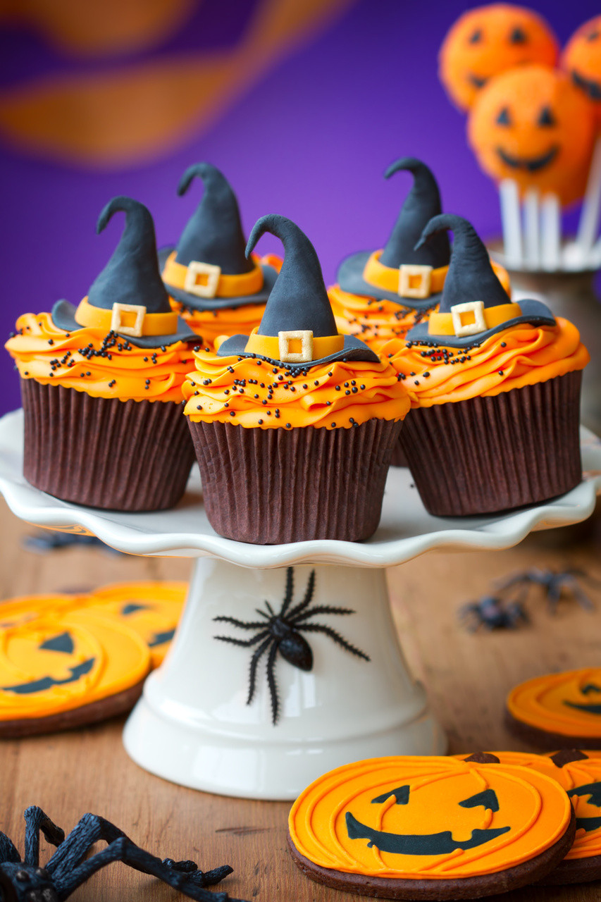 Halloween Cup Cakes  Halloween Cupcake Ideas