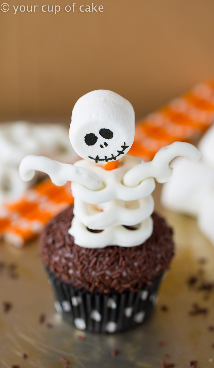 Halloween Cupcake Cakes  Skeleton Cupcakes Your Cup of Cake