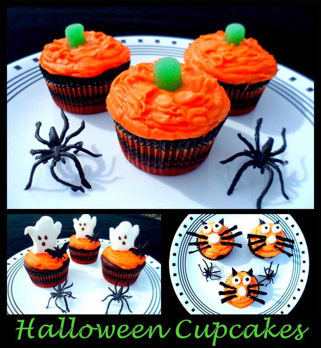 Halloween Cupcakes Decorations  Halloween Cupcakes Cupcake Decorating Ideas
