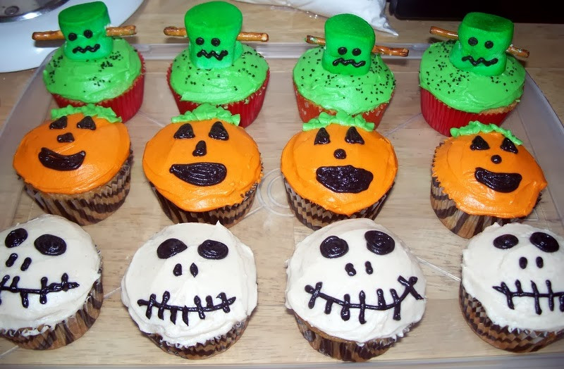 Halloween Cupcakes Designs  Hd Wallpapers Blog Halloween Cupcakes