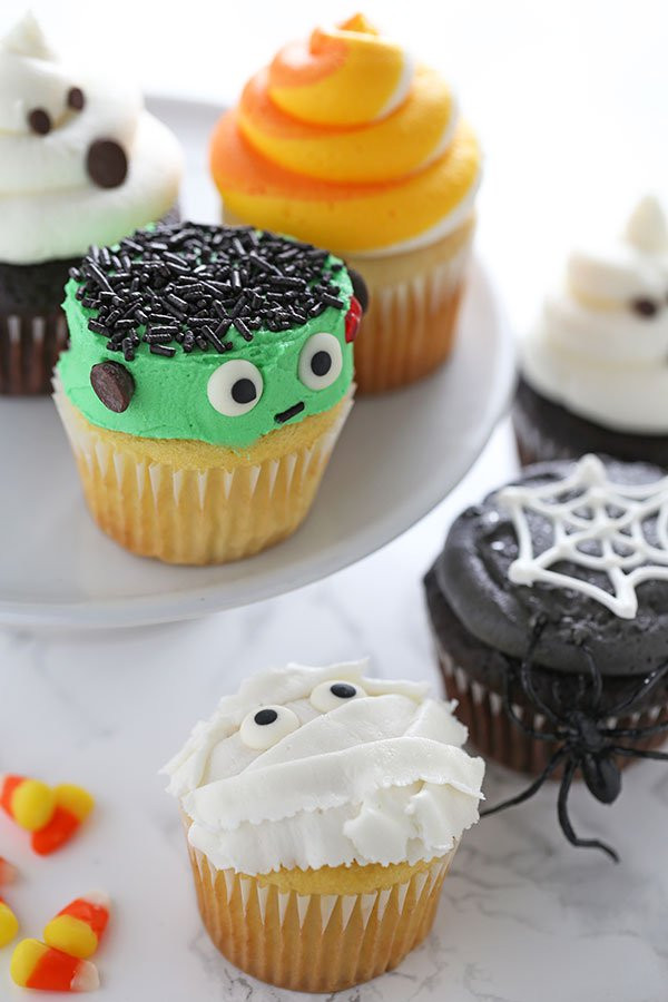 Halloween Cupcakes Designs  How to Make Halloween Cupcakes Handle the Heat