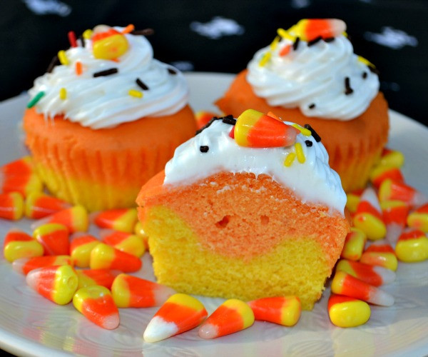 Halloween Cupcakes Images  Candy Corn Cupcakes & McCormick Spooky Squad Giveaway