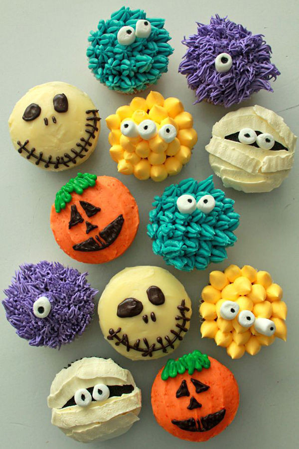 Halloween Cupcakes Pinterest  Adorable Halloween Cupcakes s and