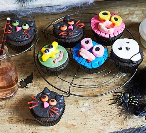 Halloween Cupcakes Recipes  Halloween cupcakes recipe