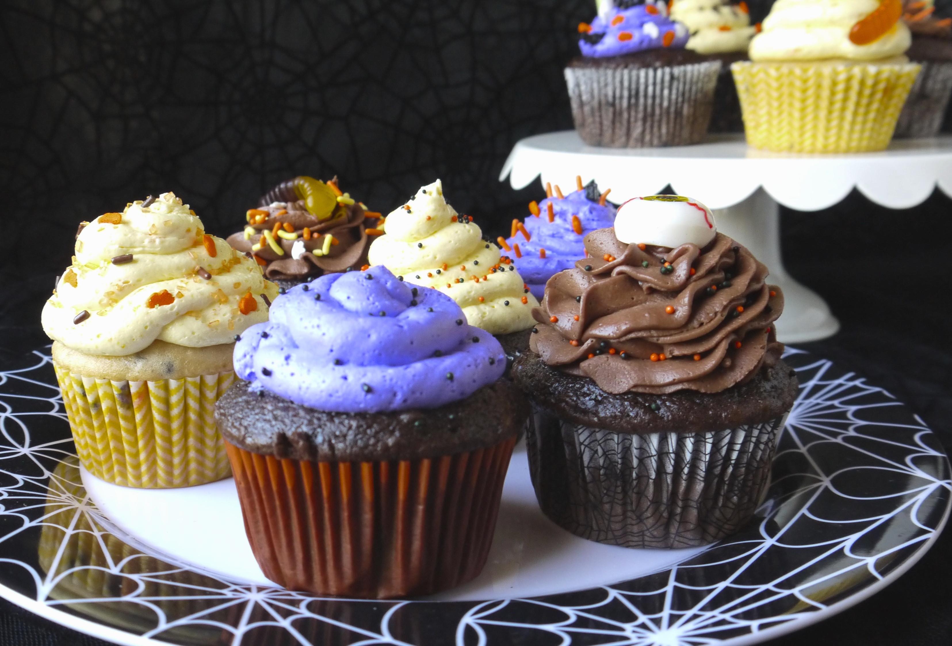 Halloween Cupcakes Recipes  Halloween Cupcakes