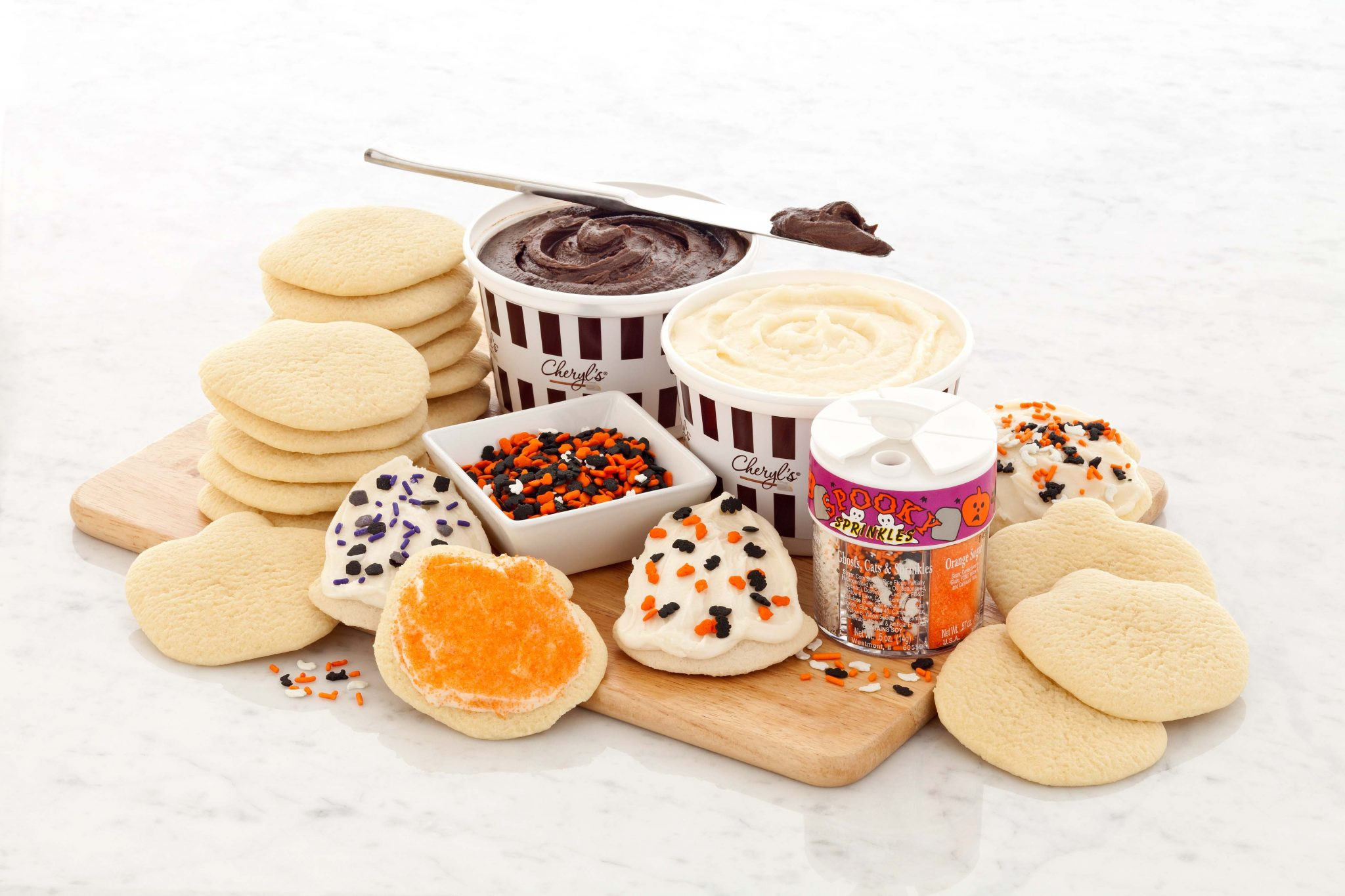 Halloween Cut Out Cookies  Win a Halloween Cookie Decorating Kit from Cheryl s Cookies
