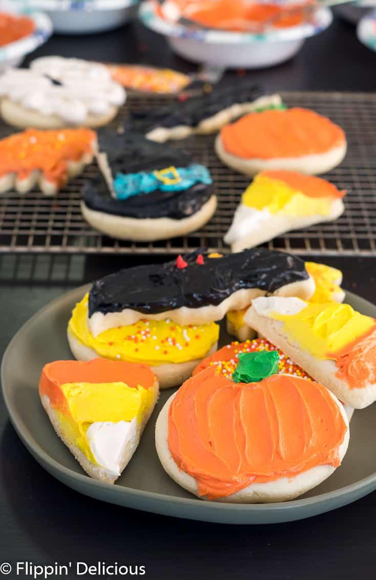 Halloween Cut Out Cookies  Gluten Free Halloween Sugar Cookies