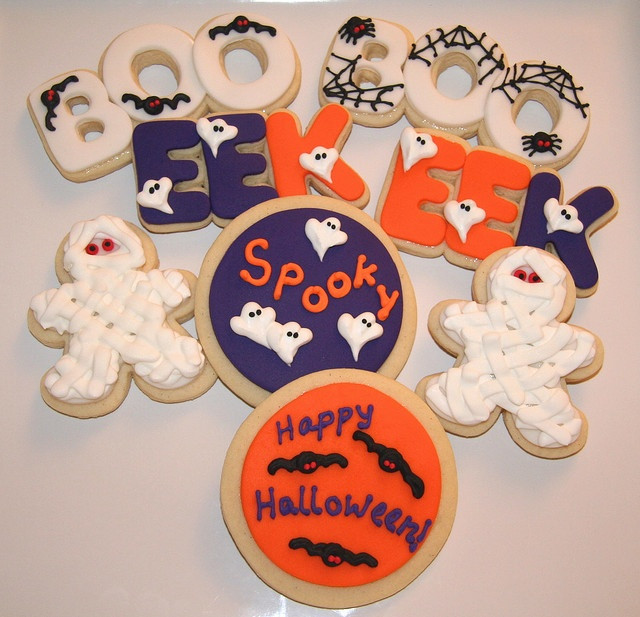 Halloween Cut Out Cookies  436 best images about Halloween Confections on Pinterest