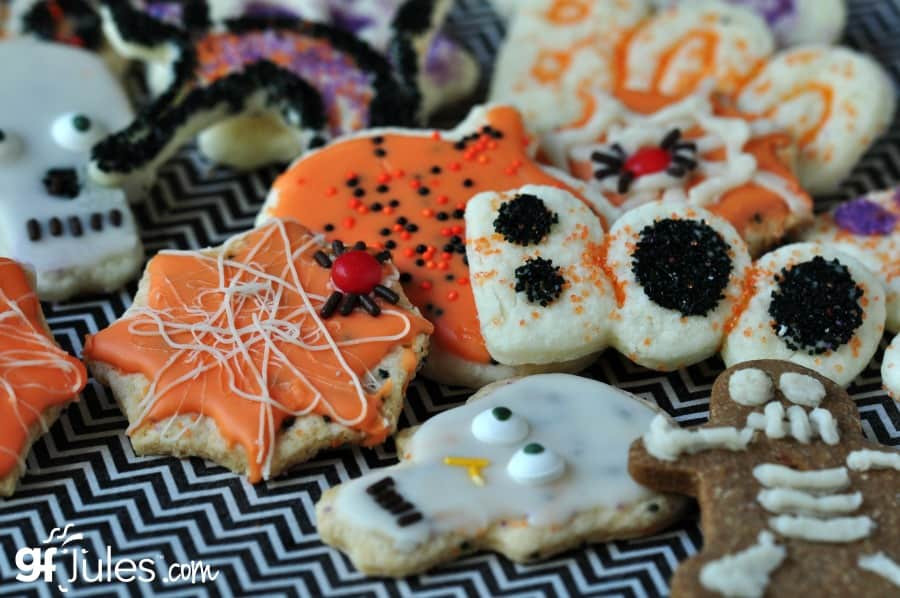 Halloween Cut Out Cookies  Gluten Free Cut Out Sugar Cookie Recipe by gfJules