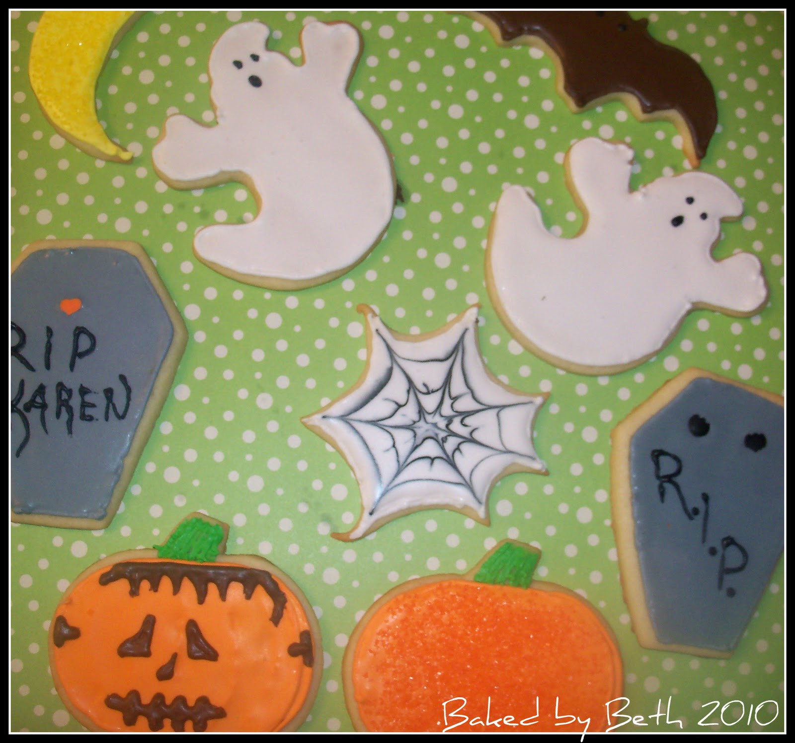 Halloween Cutout Cookies  Baked by Beth Halloween Cutout Cookies