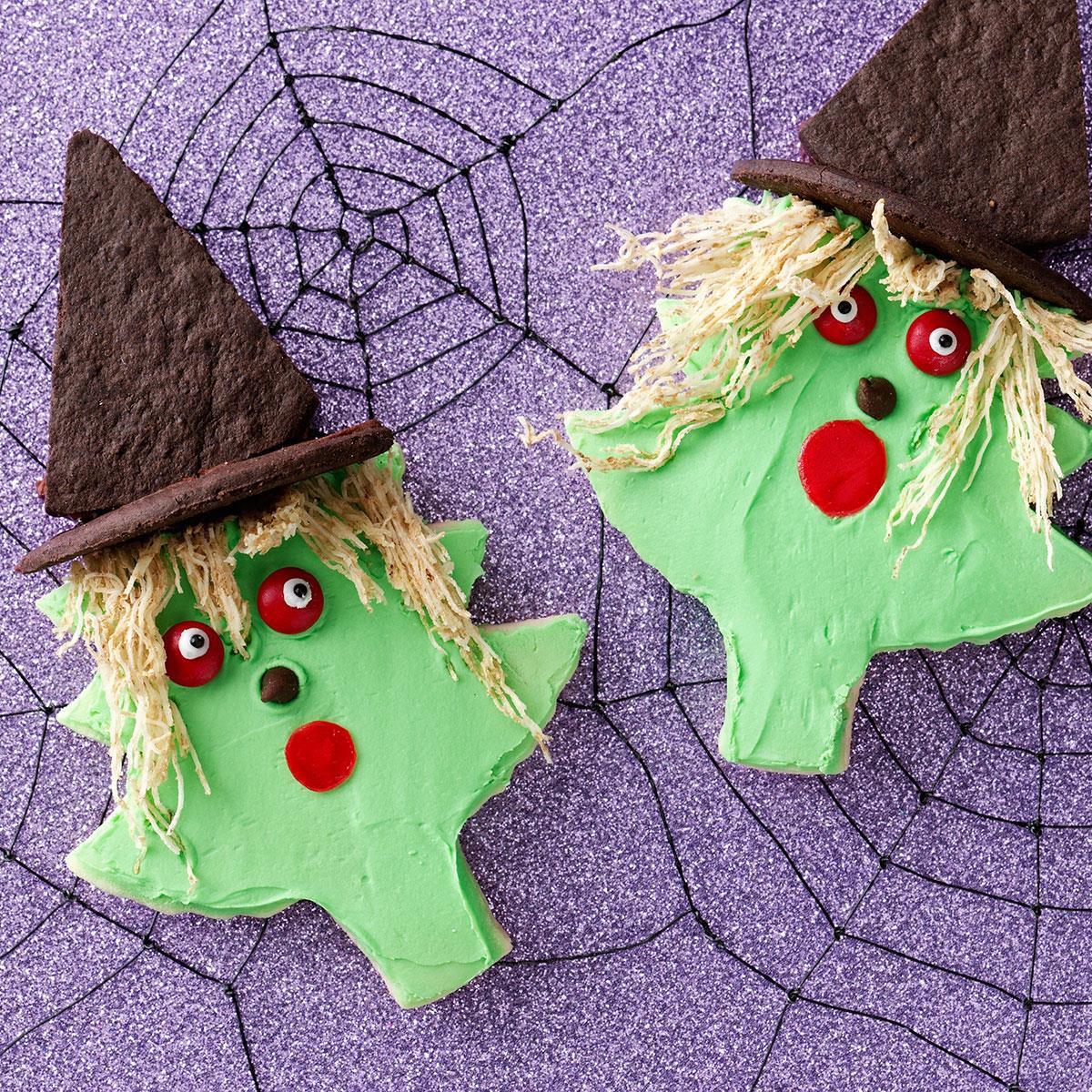 Halloween Cutout Cookies  Halloween Cutout Cookies Recipe