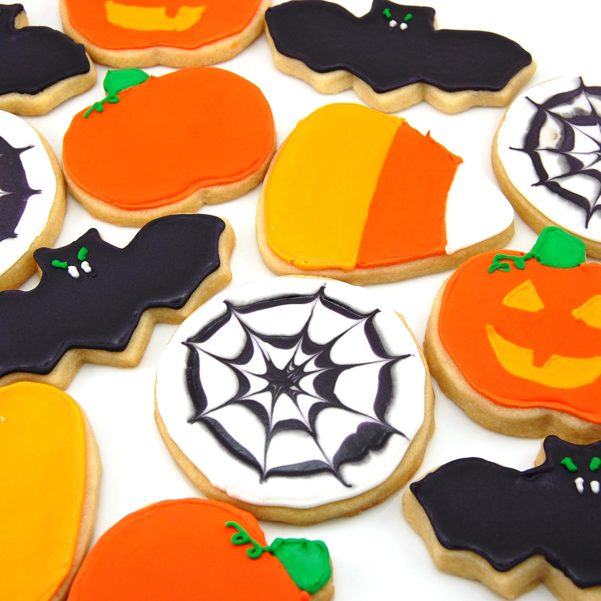 Halloween Cutout Cookies  Halloween Sugar Cookies
