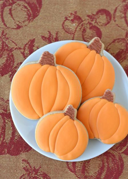 Halloween Cutout Cookies  Pumpkin Spice Cutout Cookies – Glorious Treats