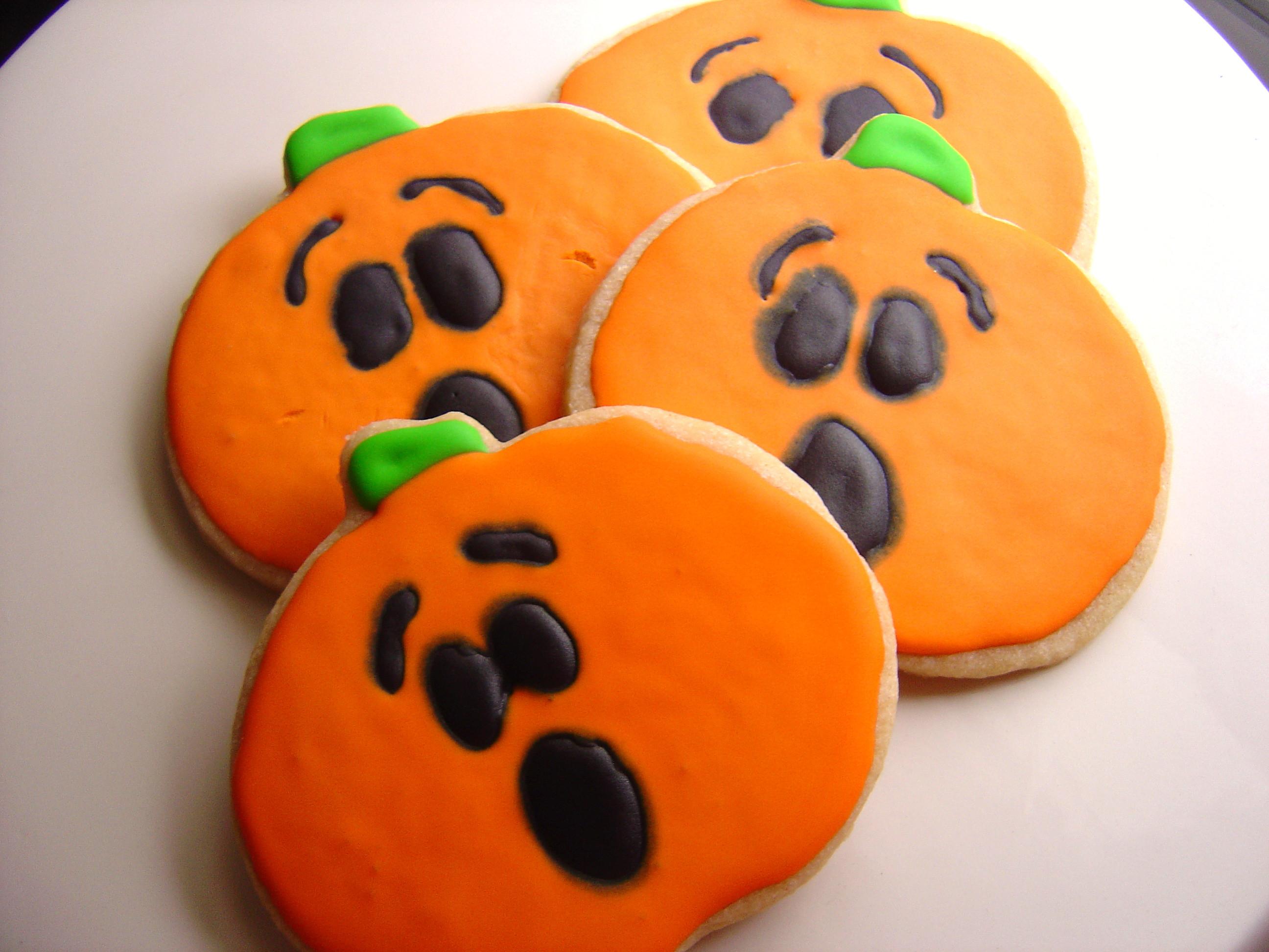 Halloween Cutout Cookies  Cinnamon Sugar Halloween Cookies Smells Like Home