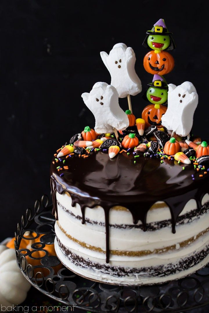 Halloween Decorated Cakes  25 Best Ideas about Halloween Cakes on Pinterest