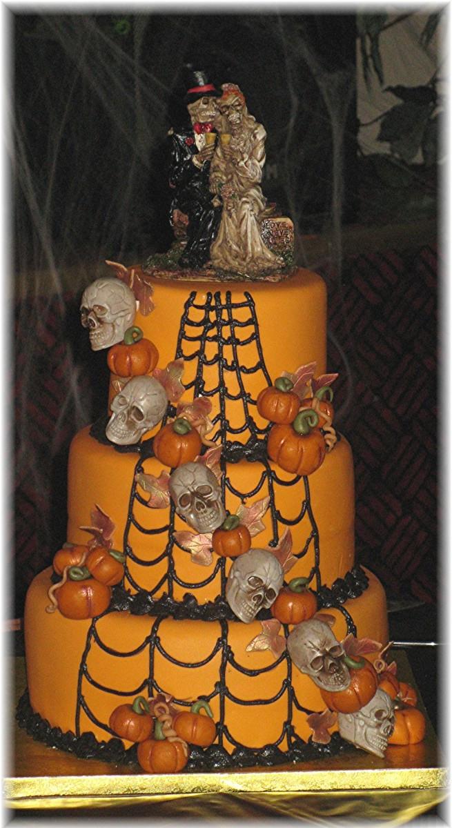 Halloween Decorated Cakes  Halloween Cake Contest Cake Decorating munity Cakes