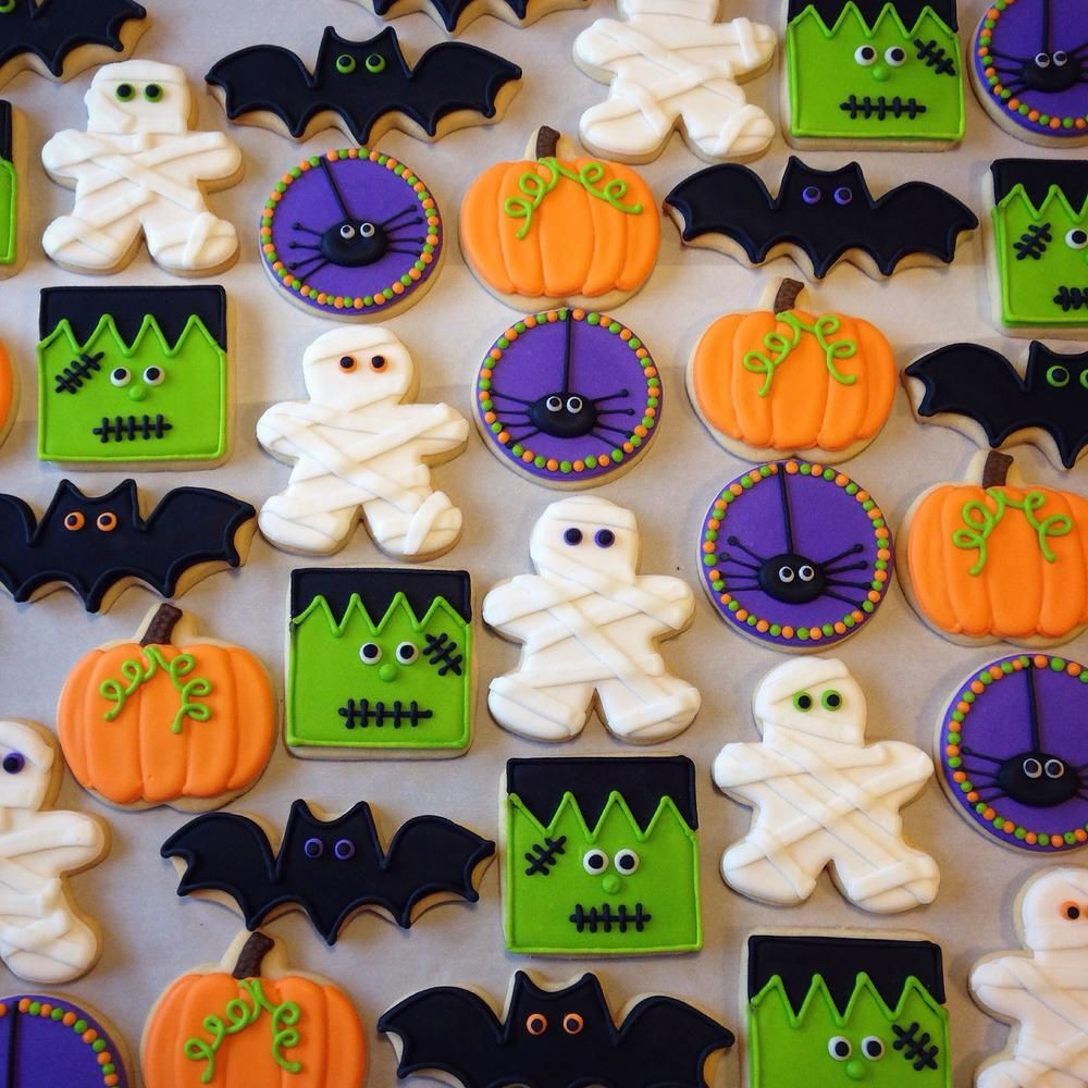 Halloween Decorated Sugar Cookies  Halloween Cookie Connection Halloween