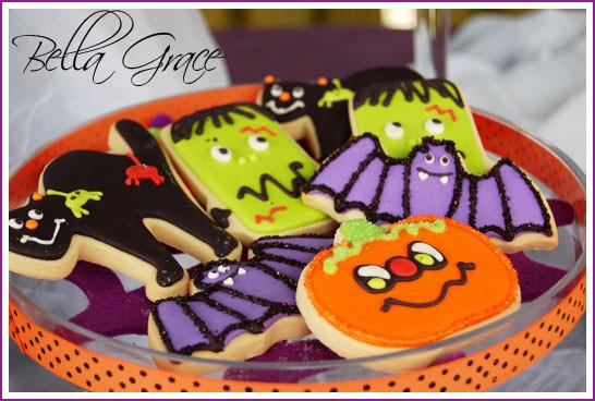 Halloween Decorating Cookies  Guest Post Halloween Party Favors