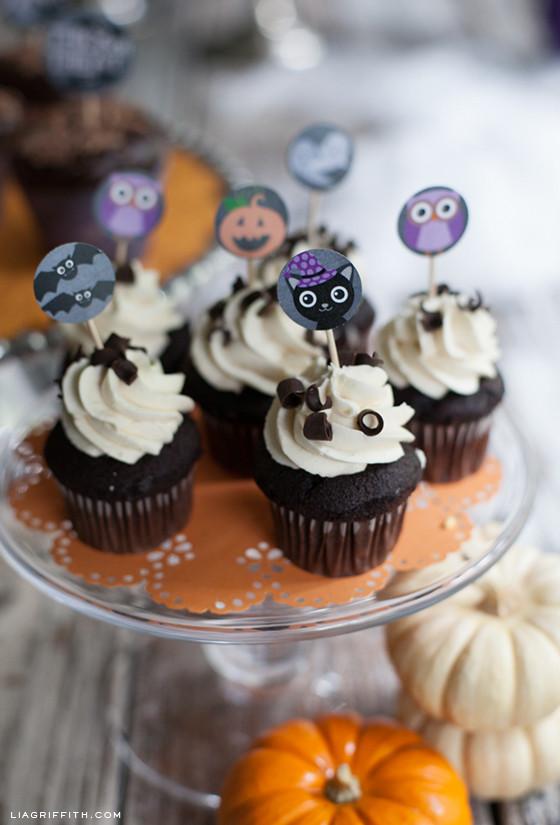 Halloween Decorating Cupcakes  Halloween cupcake ideas