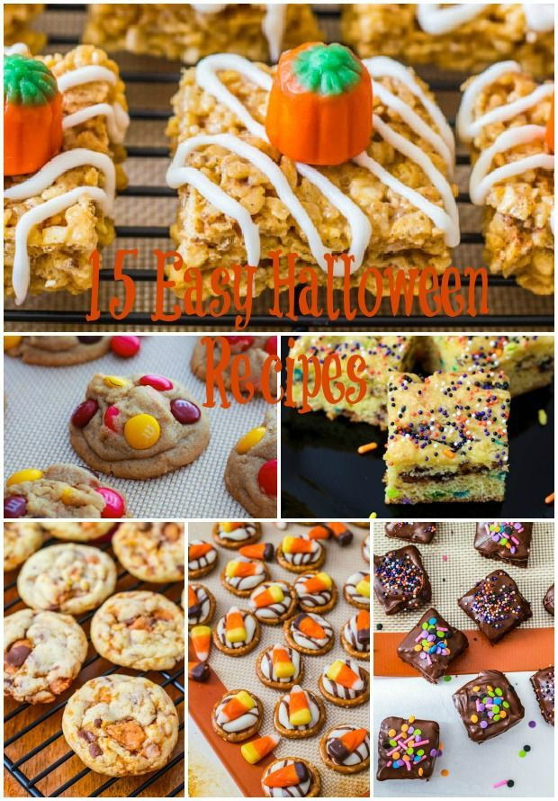 Halloween Dessert Recipes  15 Easy Halloween Dessert Recipes