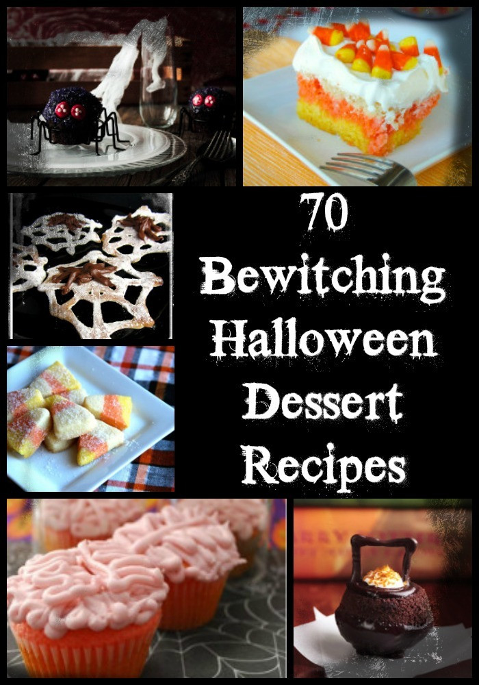 Halloween Dessert Recipes  70 Bewitching Halloween Dessert Recipes