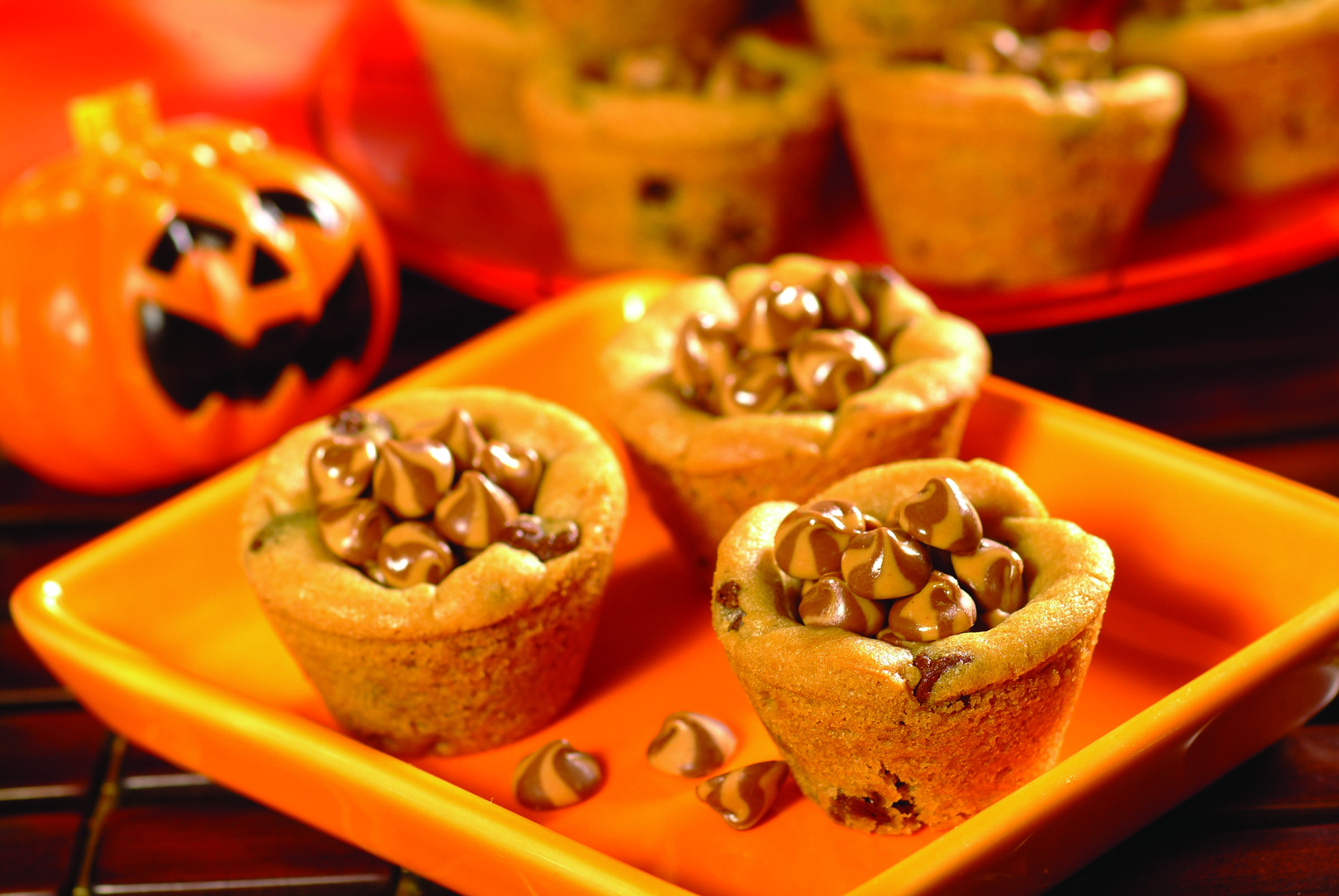 Halloween Dessert Recipes  halloween cookie cup recipe