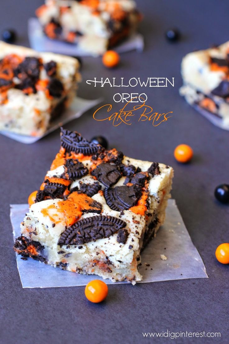 Halloween Dessert Recipes  25 Best Ideas about Easy Halloween Treats on Pinterest