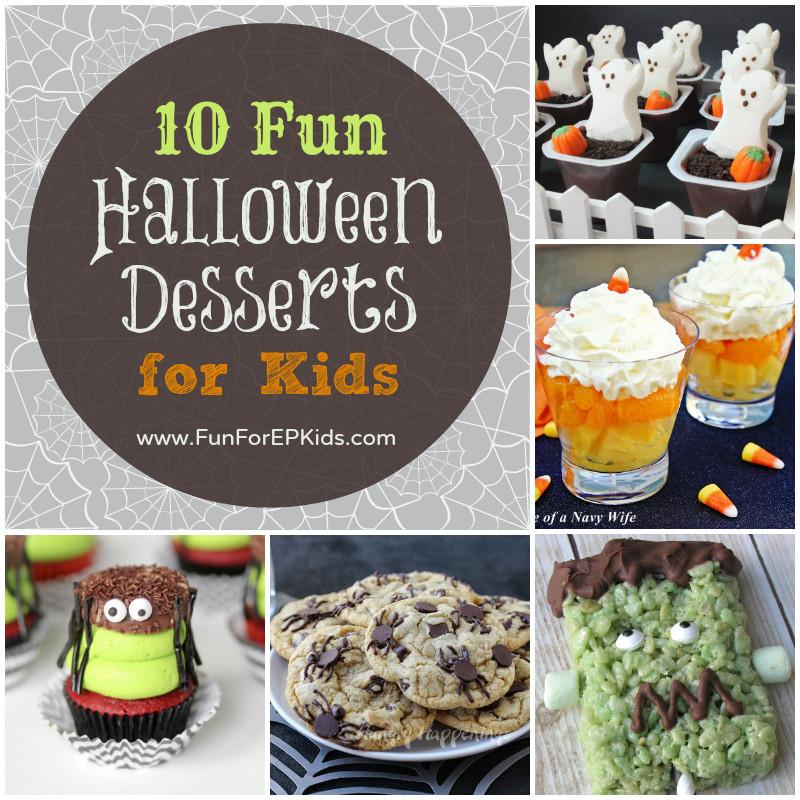 Halloween Desserts For Kids  Ten FUN Halloween Desserts for Kids