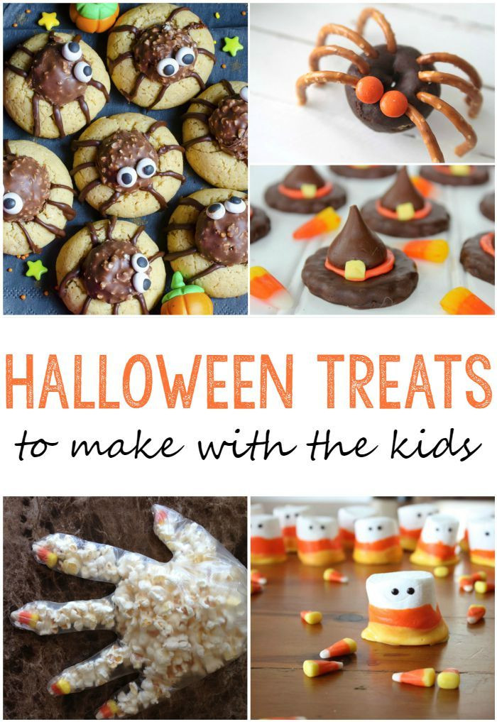 Halloween Desserts For Kids  25 Cute Halloween Treats to Make With Your Kids