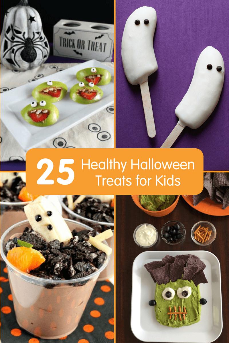 Halloween Desserts For Kids  25 Healthy Halloween Treats for Kids Fun Halloween