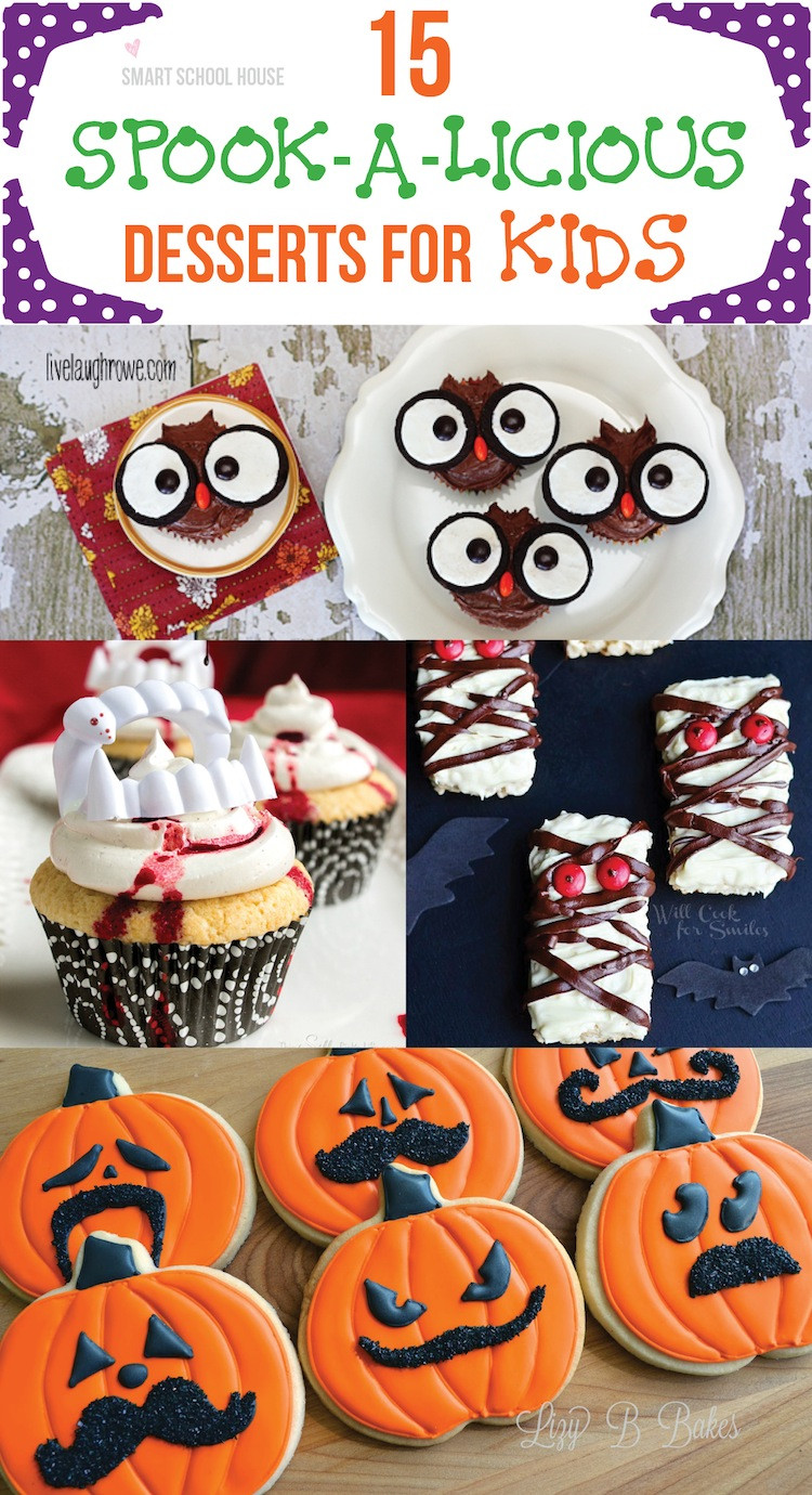 Halloween Desserts For Kids  Spooky Desserts for Kids