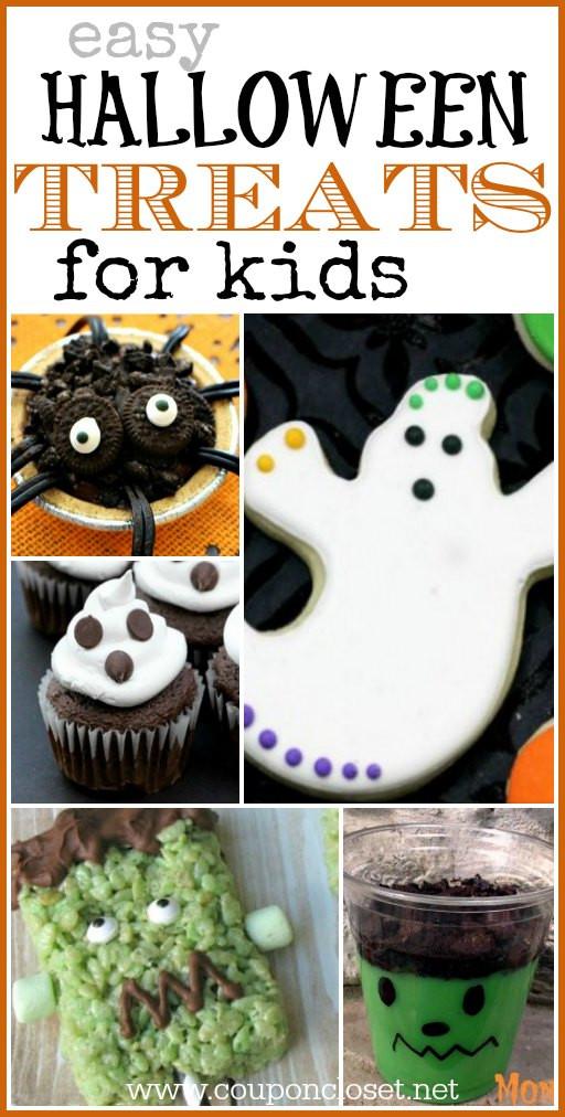 Halloween Desserts For Kids  Easy Halloween Treats for Kids Coupon Closet