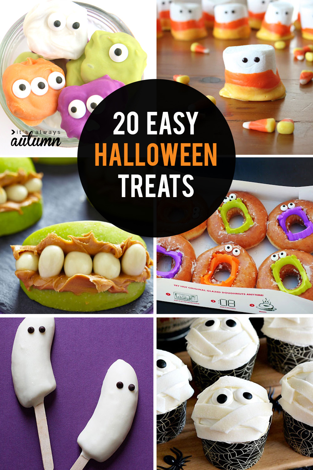 Halloween Desserts For Kids  20 fun easy Halloween treats to make with your kids It