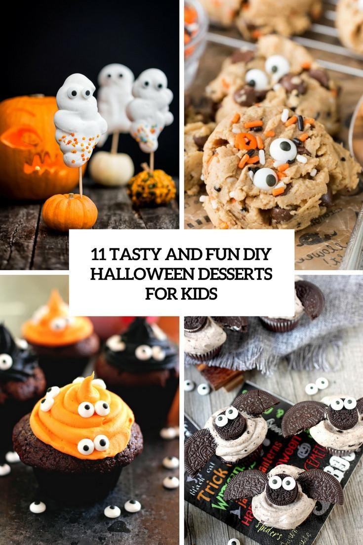 Halloween Desserts For Kids  11 Tasty And Fun DIY Halloween Desserts For Kids Shelterness