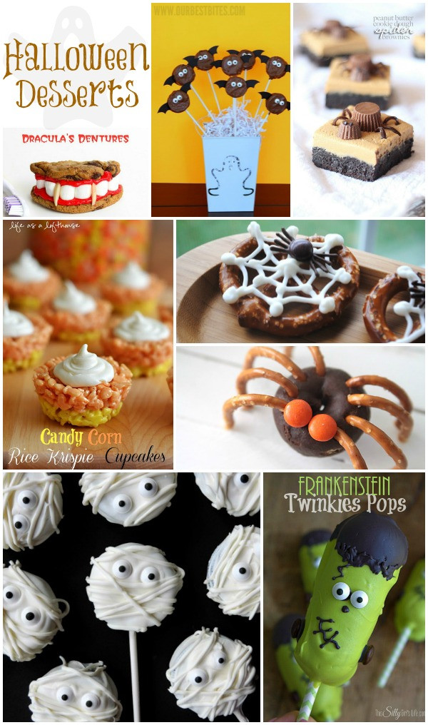 Halloween Desserts For Kids  Halloween Fun For The Entire Family
