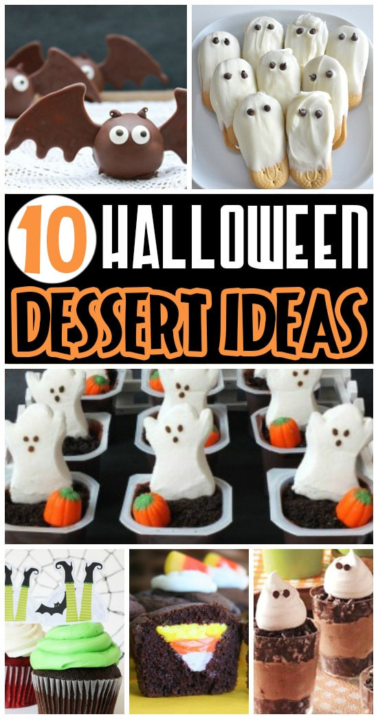 Halloween Desserts Ideas  50 FUN Halloween Foods Halloween Themed Food for Every Meal