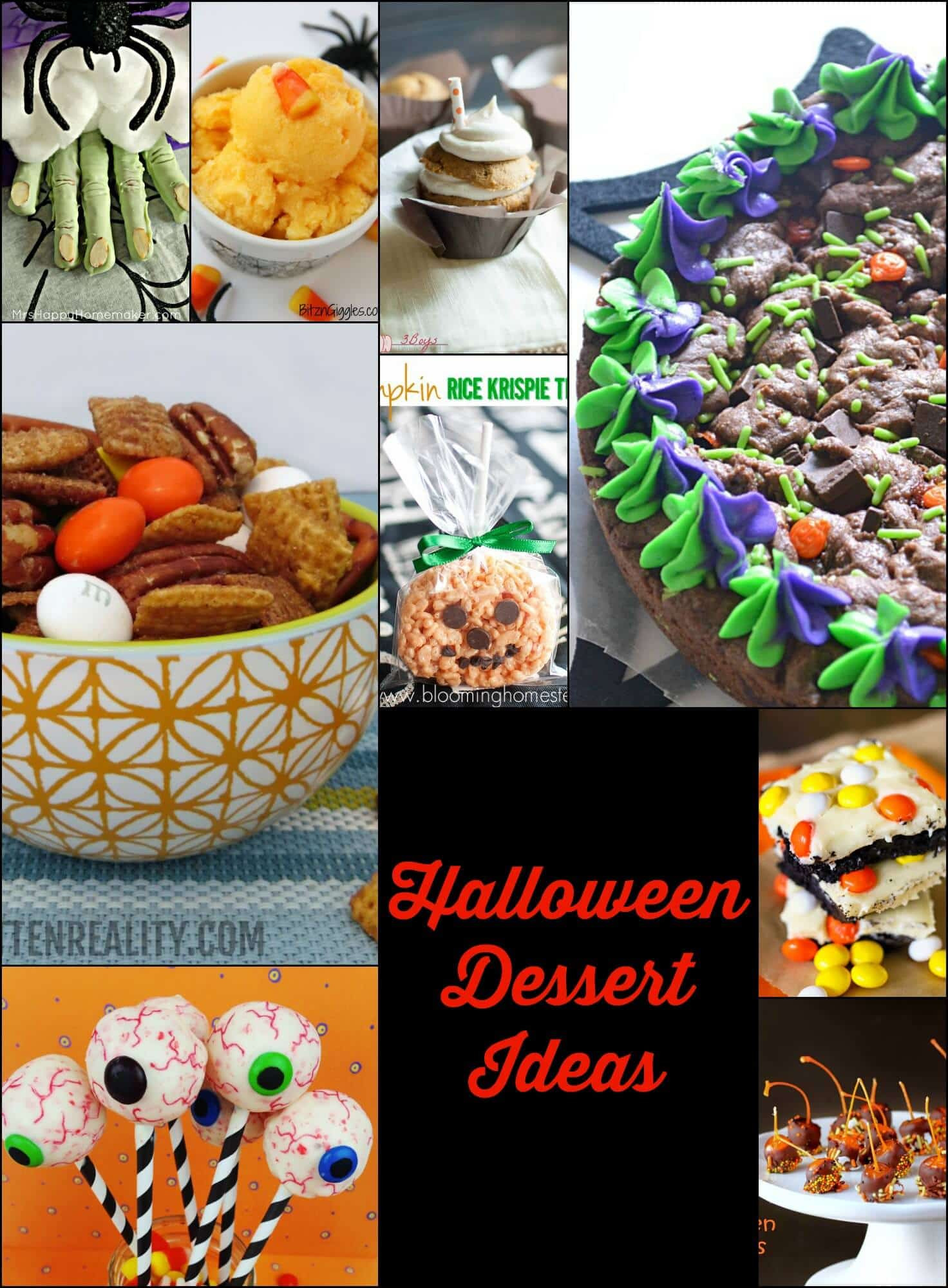 Halloween Desserts Ideas  Frightfully Fun Halloween Desserts Page 2 of 2