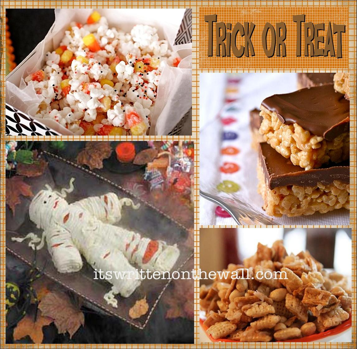Halloween Desserts Ideas  It s Written on the Wall 25 Halloween Treat Dessert Ideas