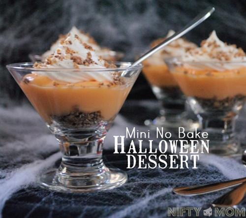 Halloween Desserts No Bake  No Bake Halloween Dessert recipe