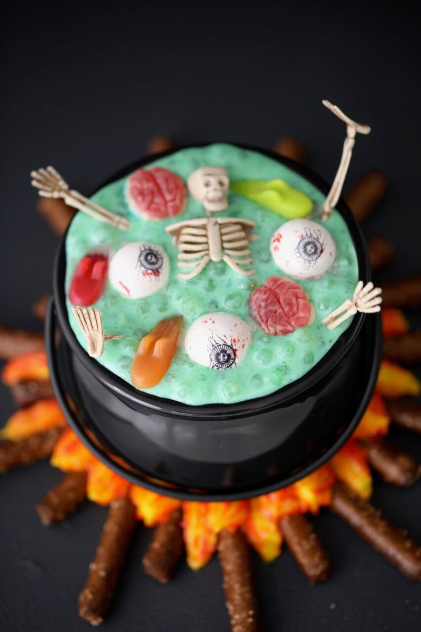 Halloween Desserts Pictures  Witch s Brew Halloween Dessert Gemma's Bigger Bolder Baking