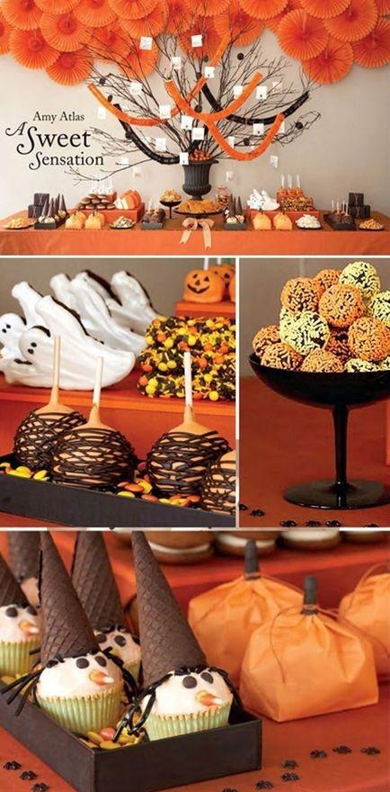 Halloween Desserts Pinterest  Cute Halloween desserts yummies