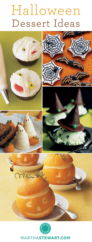 Halloween Desserts Pinterest  Creative Halloween Dessert Ideas Halloween