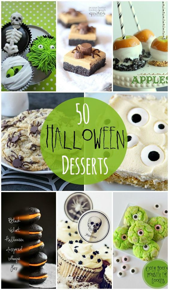Halloween Desserts Pinterest  Halloween desserts Dessert ideas and Desserts on Pinterest