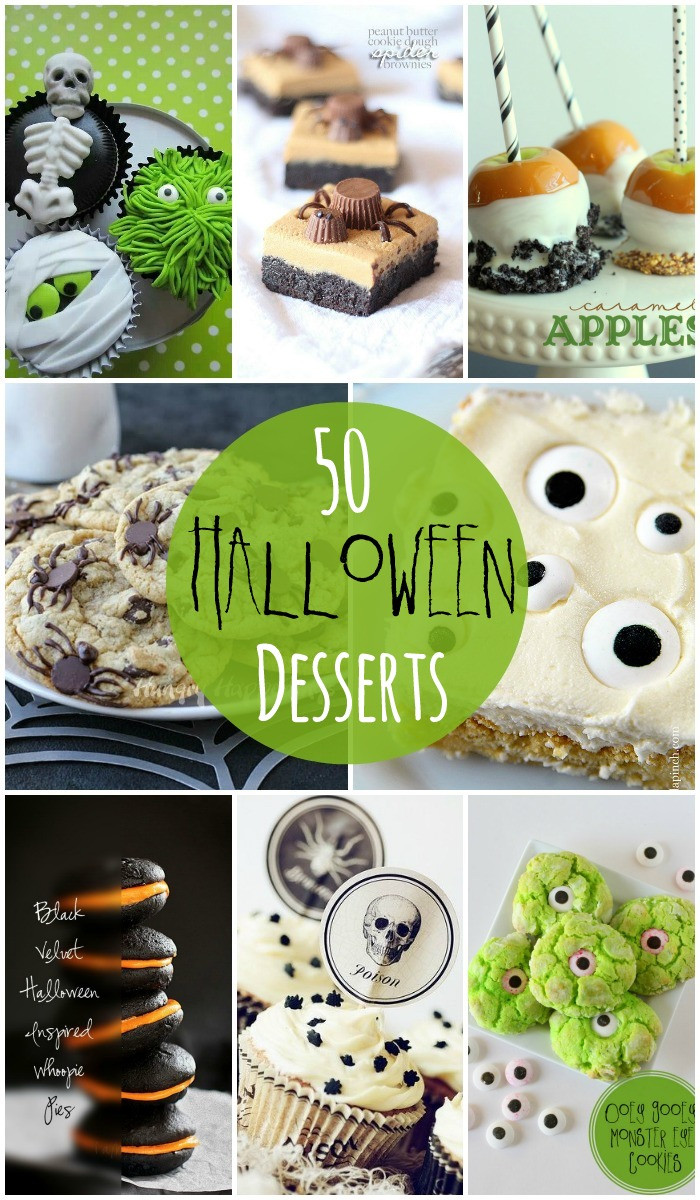 Halloween Desserts Recipes With Pictures  Halloween Desserts