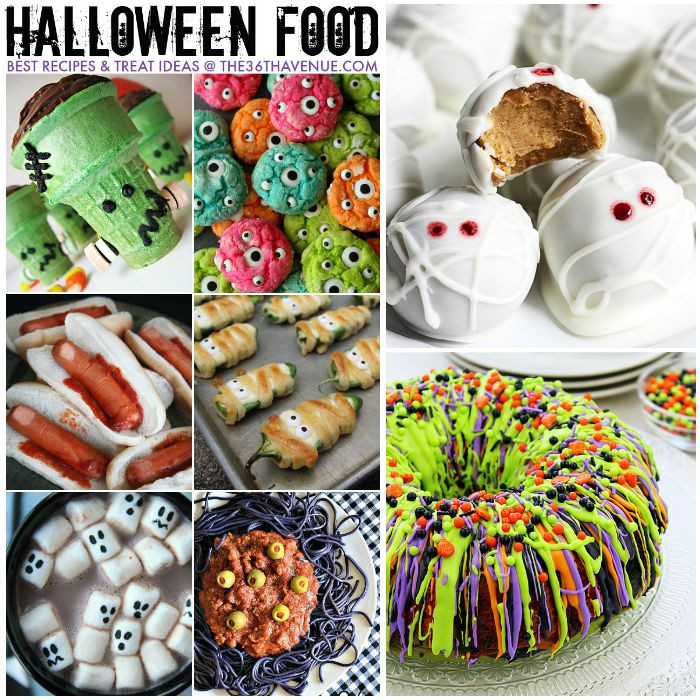 Halloween Desserts Recipes With Pictures  Halloween Best Treats and Recipes The 36th AVENUE