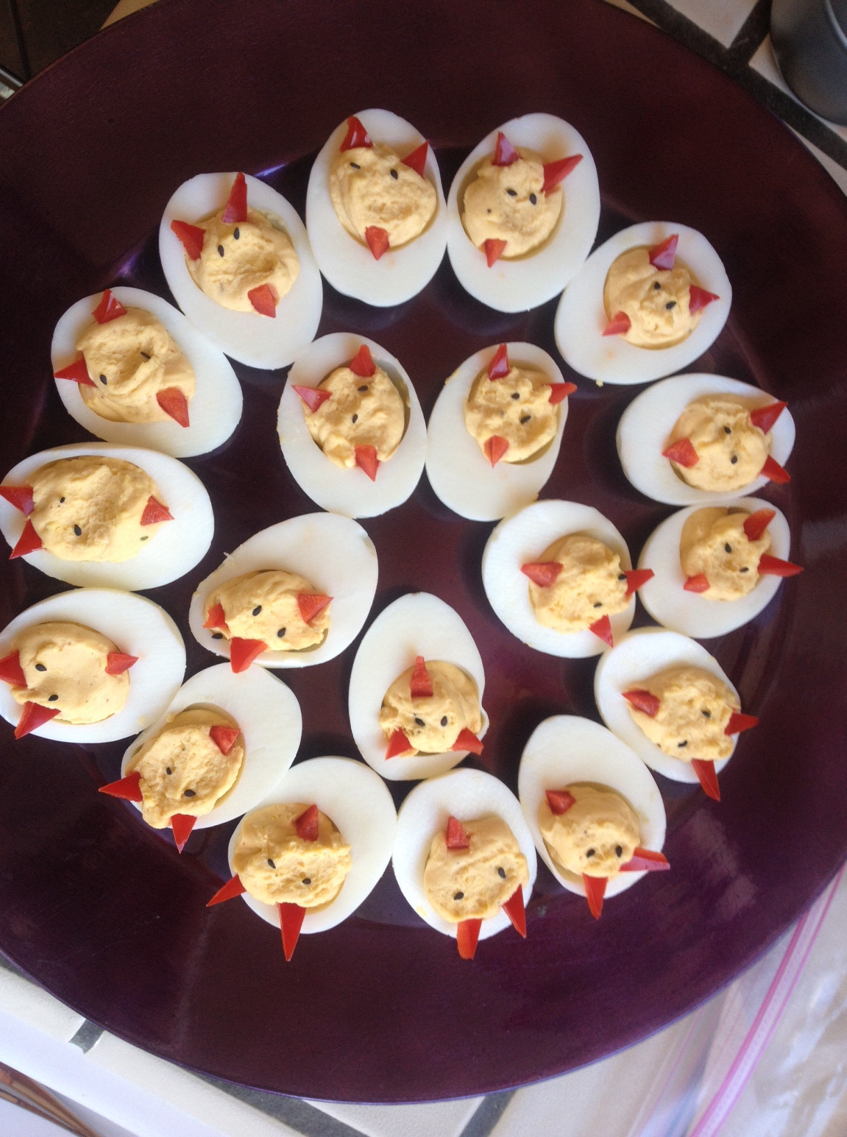 Halloween Deviled Eggs Recipes  Fun Halloween Recipes