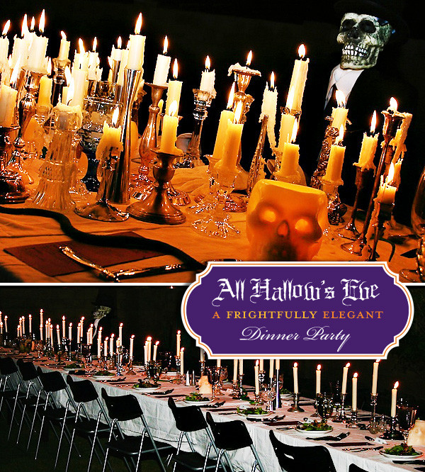 Halloween Dinner Ideas For Adults  Halloween Countdown Hostess with the Mostess